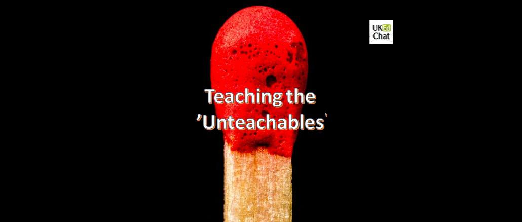 Teaching the 'unteachables' by @secretsciteach