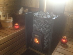 woodfired sauna