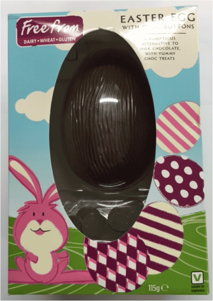 Asda Free From Easter Egg