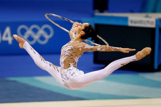 2004 ATHENS OLYMPICS - RHYTHMIC  GYMNASTICS