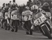 McCallen leading the 1989 Ulster Grand Prix (image courtesy of Belfast Telegraph)