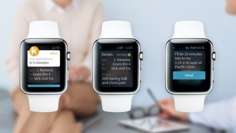 Kareo EHR Apple Watch App