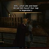 Talking to the bartender