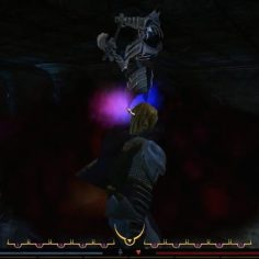 Fighting the lich