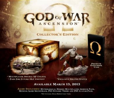 Edición Especial God of War Ascension