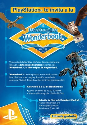 Estación Wonderbook Flyer