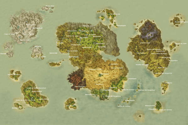 Ni no Kuni Mapa Extraccion