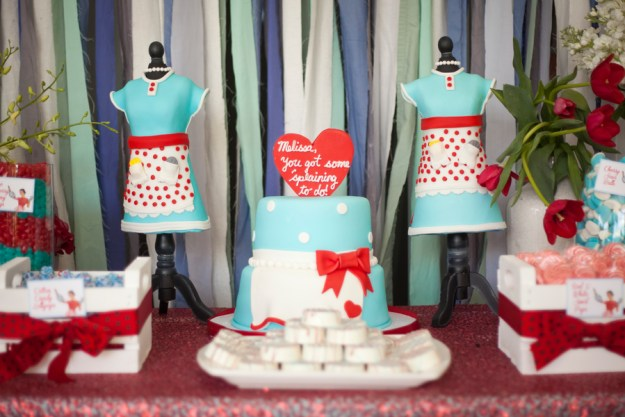 A Kitchsy-Cute 50s Housewife Bridal Shower | Ultimate Bridesmaid | Lovely Bee Photography