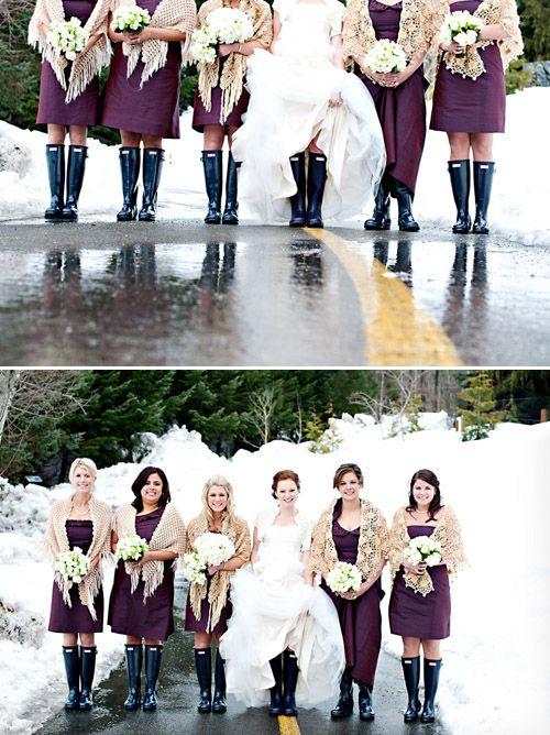 Winterhochzeit - was anziehen als Gast auf draußenfotos