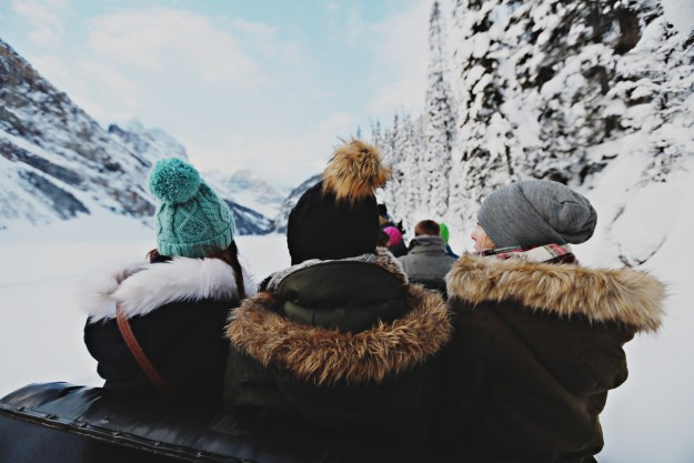 A Winter Girls Getaway to Lake Louise | Ultimate Bridesmaid | Fuller Edge Photography