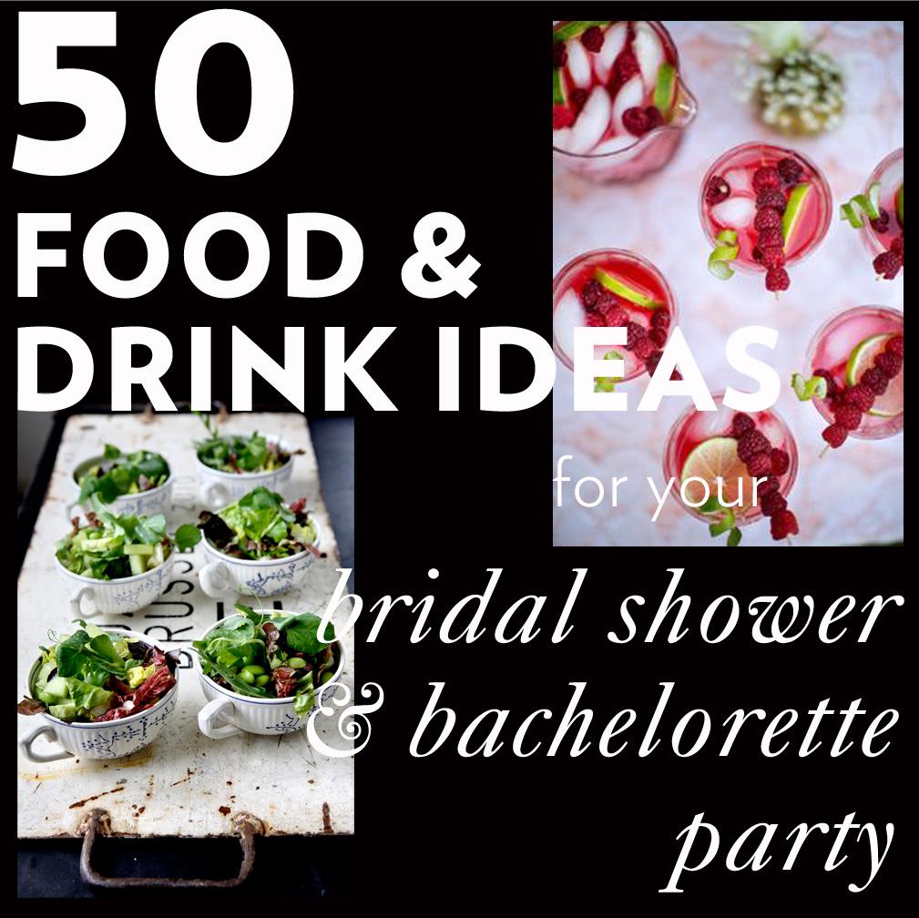 Fullsize Of Bridal Shower Food
