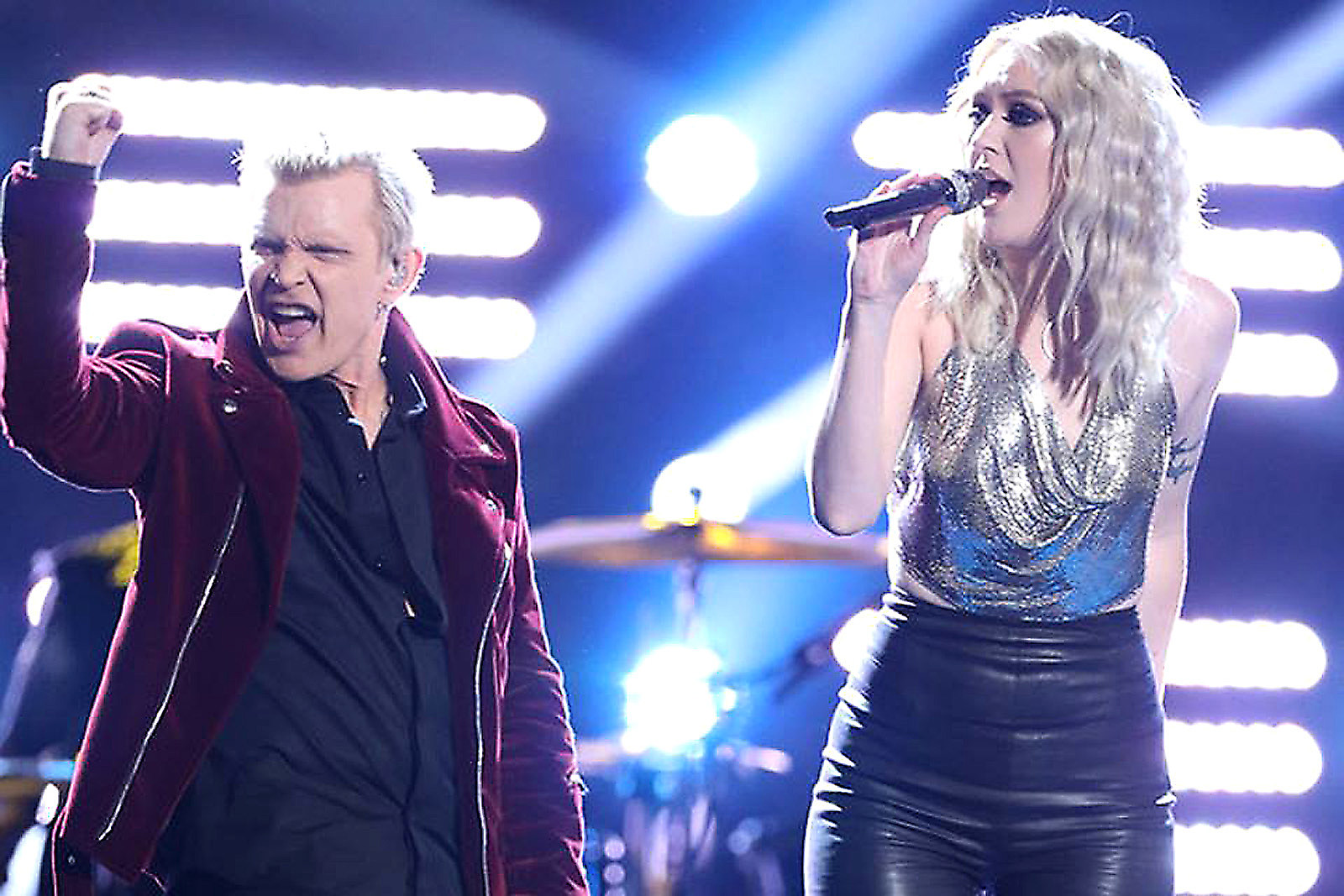 Watch Billy Idol Help a Contestant Win  The Voice