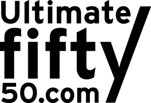 Ultimate Fifty 50 logo