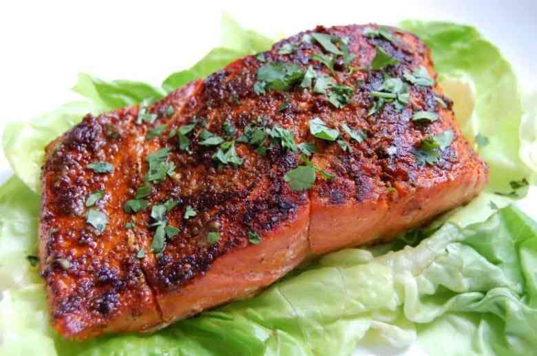 Paleo Pan Seared Salmon II