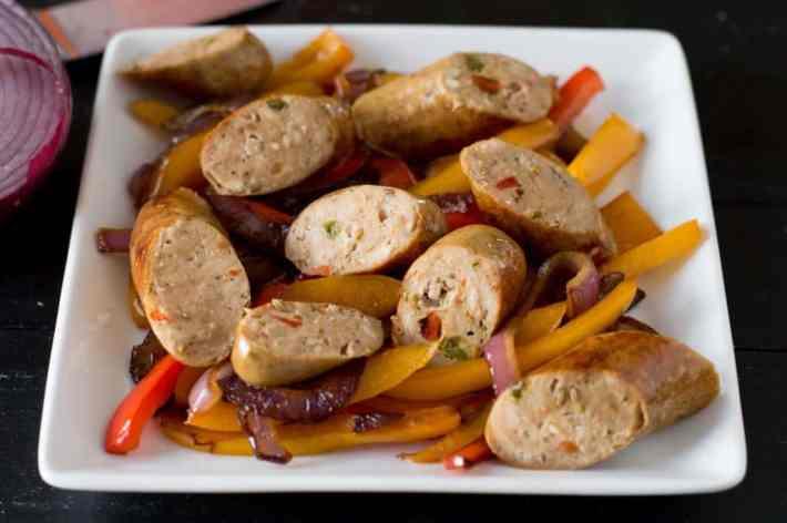 Paleo Eggplant, Sausage, and Ziti Casserole
