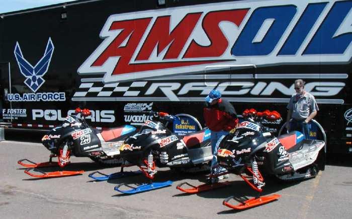 AMSOIL Snowmobile Racing