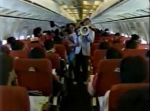 機内クイズ