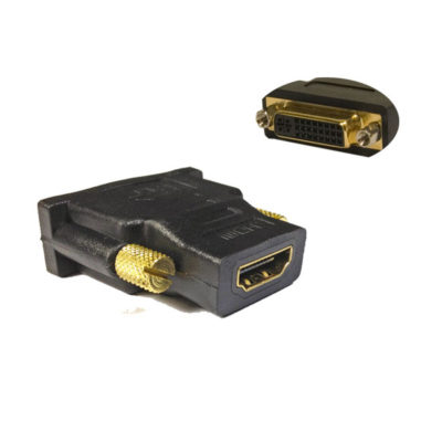 Hdmi Female to Dvi Female (24+5) Adaptor