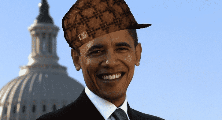 Ultraculture | Scumbag Obama