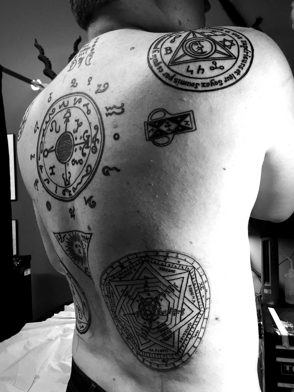 This Guy Got the Most Intense Chaos Magick Tattoos Ever