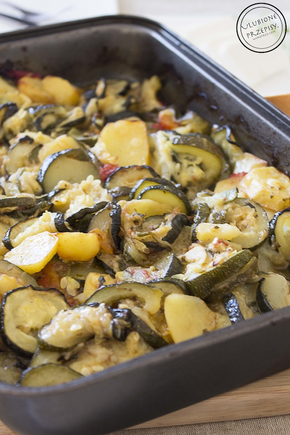 Briami - grecka zapiekanka warzywna