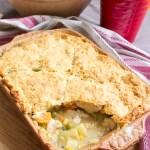 Chicken Pot Pie – zapiekanka z kurczakiem i warzywami