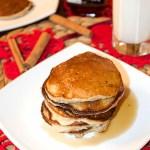 Placuszki z jabłkami, ricottą i cynamonem (pancakes)