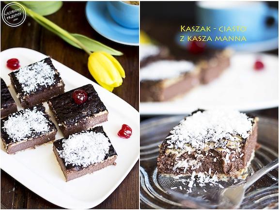 Kaszak - ciasto z kaszy manny