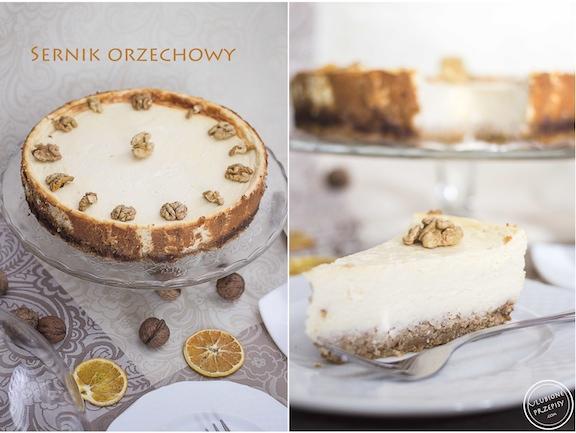 Sernik orzechowy