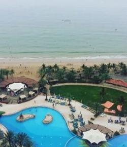 #beautifulview #scenic #beach #hotellife #awsome #weather #lemeridien #hotel #pool #lovemylife #lovingit #fujairah #dayoff #relax #chillin #enjoyinglife