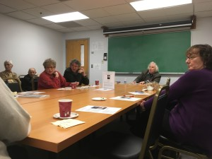 Andrei S. Markovits  speaks to UMD faculty about struggles of Jewish identity March 29. Nicole Reisinger/Mitzpeh.