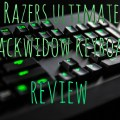 Razers ultimate blackwidow keyboard review