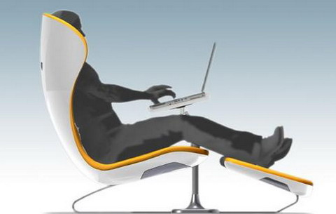 I Next Is A Friendly Laid Back Chair For Office