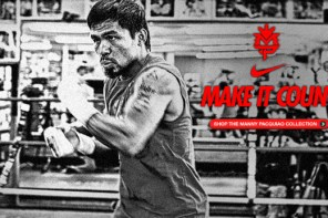 Manny Pacquiao and Nike Training