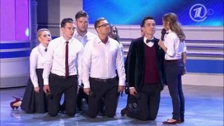 КВН 2014 Премьер лига Первая 1/2 (23.08.2014) ИГРА ЦЕЛИКОМ HD 720p