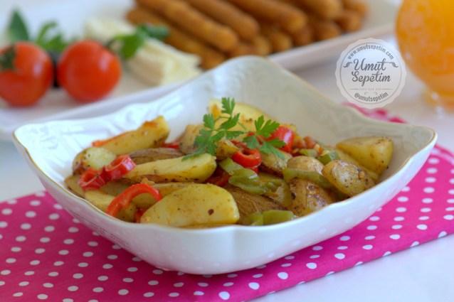 Baharatlı  Patates  Tava  Tarifi