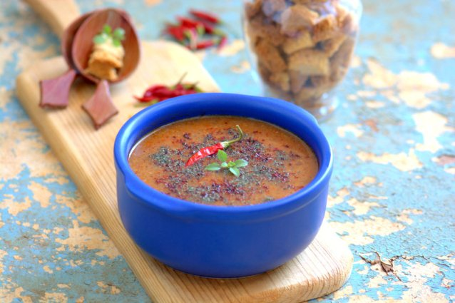Mercimekli  Tarhana  Çorbası