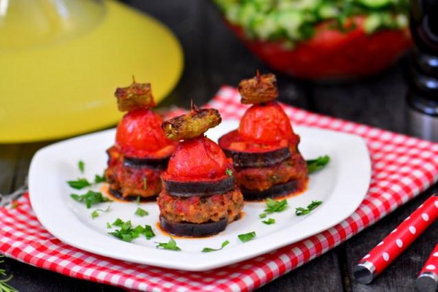 En Kolay  İslim Kebabı  Tarifi ( Patlıcanlı Köfte Kebabı)