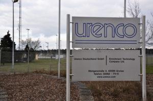URENCO-Uranfabrik in Gronau: Gaszentrifugen zur Urananreicherung können auch Waffen-Uran herstellen.