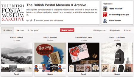 The British Postal Museum & Archive (postalheritage) en Pinterest