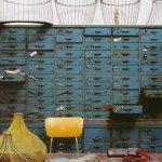 Muebles industriales de cajones