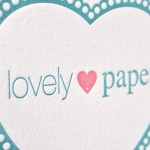 Lovelypaper.es · Letterpress made in Spain