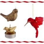 5 ideas para decorar la Navidad con pájaros