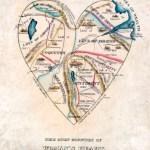 El mapa del corazón de una mujer