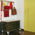 Gama de colores en una casa familiar en Brasil