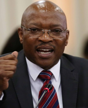 Director General Mkuseli Apleni