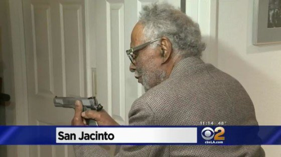 Axe-wielding Home Invader Scared off by WWII Veteran