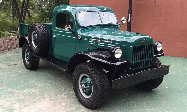 If You Want Leather and Luxury, Maybe This 1947 Dodge Power Wagon Isn't For You