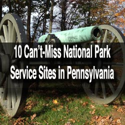 National Park Service Sites in PA
