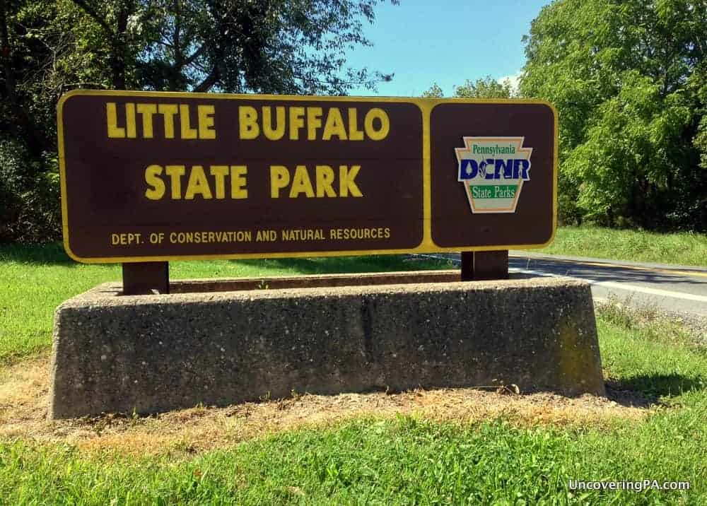 01 oct hiking in little buffalo state park to discover its beauty and